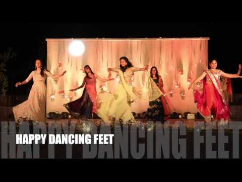 Jiya Jale | Happy Dancing Feet | Sangeet Dance | Indian Wedding Dance |