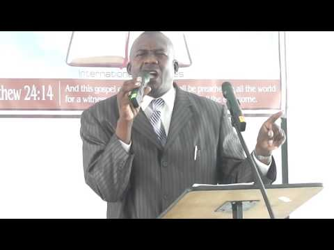 Pastor Rupert Hunt Preaching the word Part 1