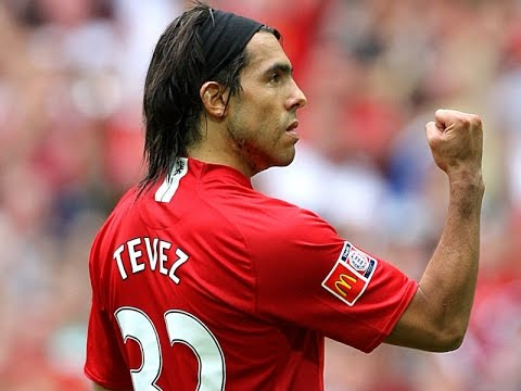 Carlos Tevez's 34 Goals For Manchester United