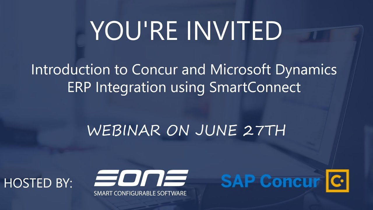 Webinar: How to Integrate SAP Concur Travel & Expense with your