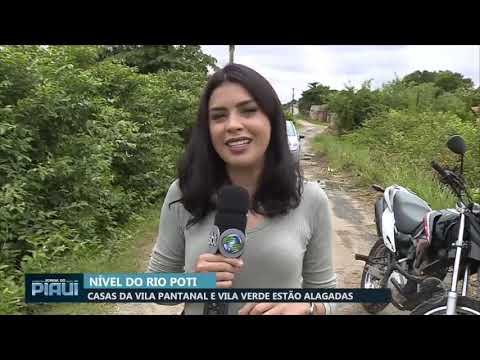 Casas da Vila Verde e Vila Pantanal estão alagadas