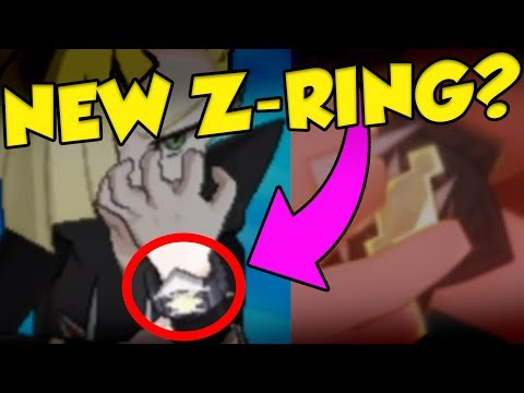 SPECIAL Z-RINGS IN POKEMON ULTRA SUN AND ULTRA MOON?!