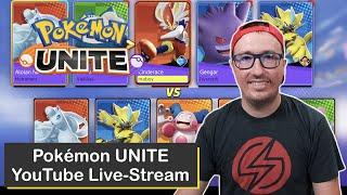 Live-Streaming Ranked Battles in Pokémon UNITE on Nintendo Switch