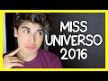 MISS UNIVERSO 2016 CON LA DIVAZA