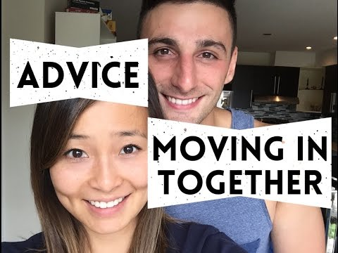 MOVING IN WITH YOUR BOYFRIEND / GIRLFRIEND | cohabitation advice
