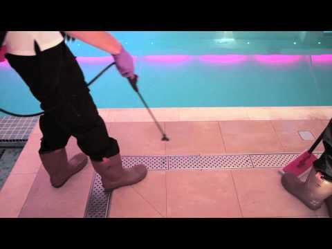 Oltco/Etchgrip - Non Slip Swimming Pool Floor Case Study.