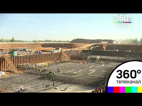 Второй этап строительства мусоросжигательного завода стартовал в Воскресенском районе