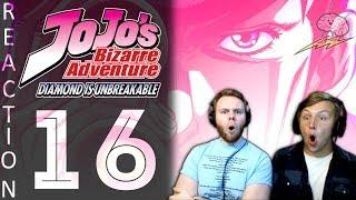 SOS Bros React - JoJo's Bizarre Adventure Part 4 Episode 16 - Ahh Rats!!
