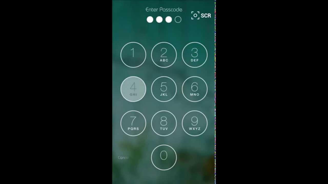 Galaxy S5 Keypad Lockscreen