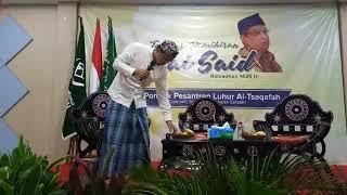 "Tadarus Pemikiran KH Said Aqil Siradj, ""Kyai Said dan Tasawuf"", Ponpes Luhur AlTsaqofah (26/5/2018)"