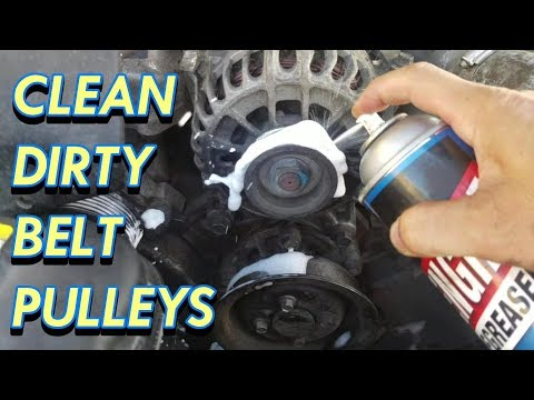 How To Diagnose A Squeaking Pulley Doovi