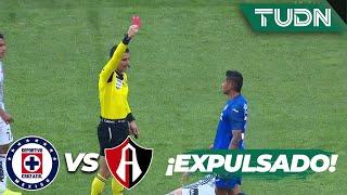 Adiós Orbelín ¡Entrada imprudente y expulsión! | Cruz Azul 1 - 0 Atlas | Liga Mx - CL 2020 J1 | TUDN