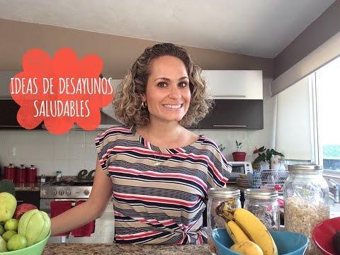 IDEAS DE DESAYUNOS SALUDABLES Y CLEAN. NUTRIVLOGS. ANUTRICIONAL