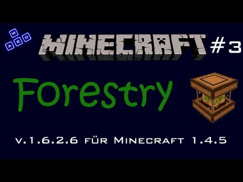 Minecraft Mod: Forestry v.1.6.2.6 für 1.4.5 - #3 Fuel Production + Installation [Deutsch][HD]