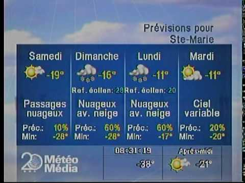Winter  Local Forecasts January Th Meteo Media Differ A Bit From The Weather Network Youtube