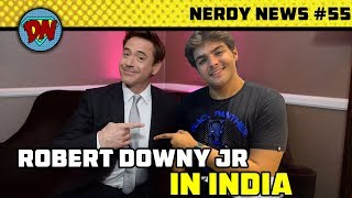 End Game Ticket Booking, RDJ India, MCU Phase 4, Joker New Look, Disney Plus   Nerdy News #55