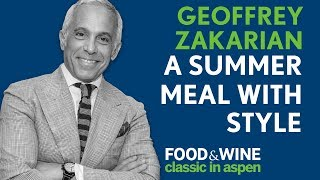 Clams and Cocktails | Geoffrey Zakarian | Food & Wine Classic in Aspen 2018