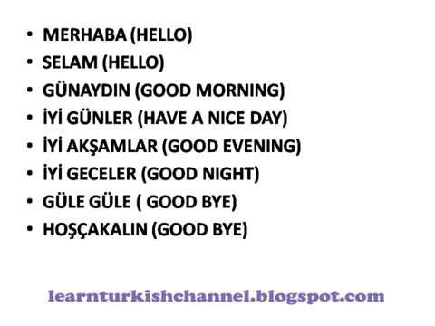 Greetings in turkish online turkish lessons youtube greetings in turkish online turkish lessons m4hsunfo
