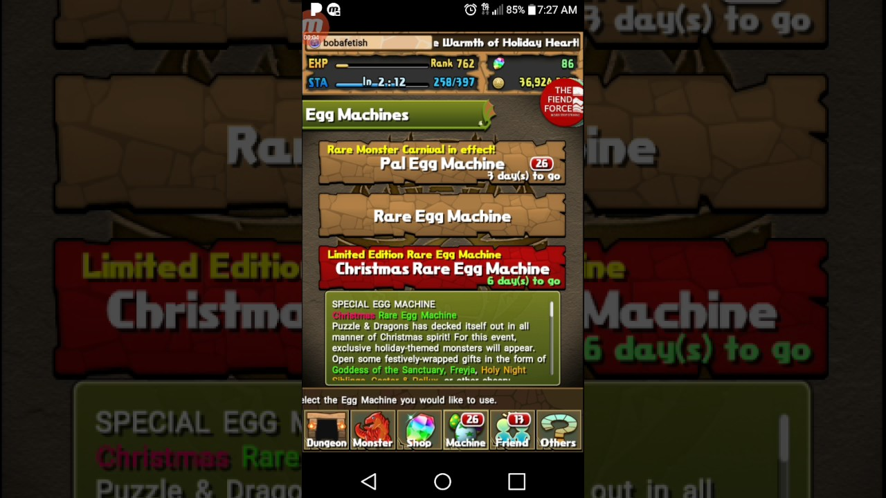 PAD Christmas rem trolling year 3 - YouTube