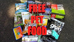 How To Get Free Dog and Cat Food for Your Pet