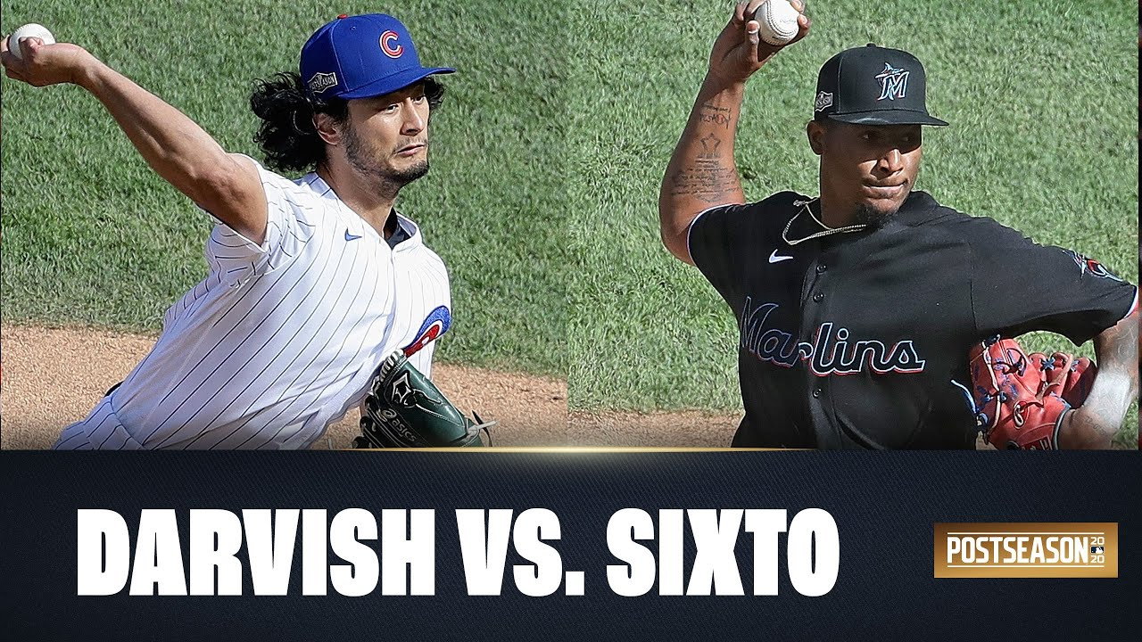 Cubs Yu Darvish + Marlins Sixto Sanchez duel in epic showdown in Wild Card round Game 2!