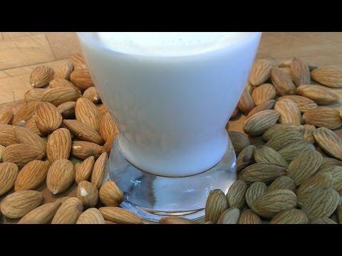 ⭐ Como hacer leche de almendras casera | Leches vegetales | Receta vegana ⭐