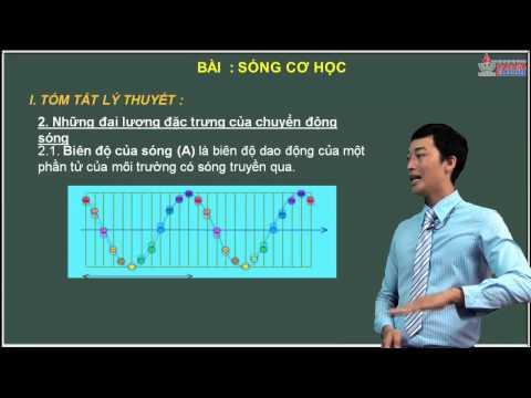 Ôn thi môn lý 2014 - Sóng cơ học - Lý thuyết sóng cơ - Cadasa.vn