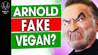 Arnold Schwarzenegger: Fake Vegan? - Mens Health Fridge Tour
