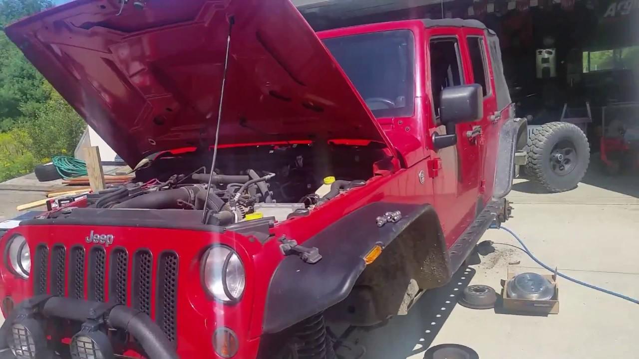 2007 jeep wrangler front axle seals bearing hubs u joints [ 1280 x 720 Pixel ]