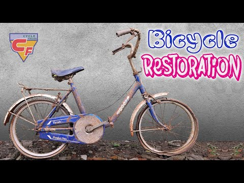 Classic early 70s Bicycle Restoration   Full Bike Restoration Upgrade thumbnail