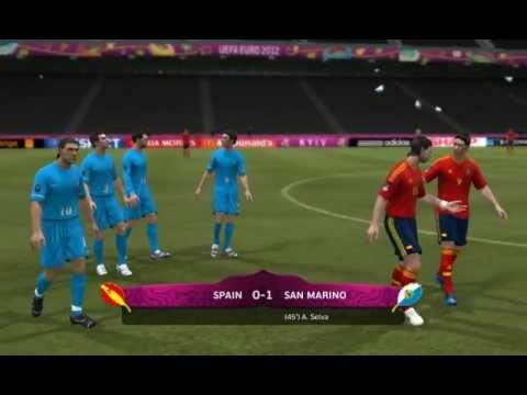 Road to Victory EURO 2012 with San Marino - Episode 6 - Spain Vs San Marino