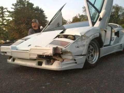 Lamborghini Countach Wrecked In The Wolf Of Wall Street YouTube - The wolf of wall streets ferrari is now up for sale