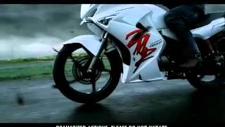 Latest Hero Honda Karizma ZMR TV ad