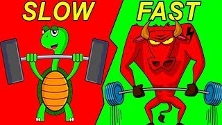 Slow Reps vs Fast Reps (5X YOUR GAINS) thumbnail