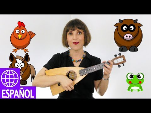 Songs for Kids in Spanish Vengan a Ver by Alina Celeste - Farm Animals