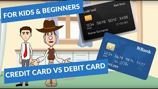 Credit Cards 101: Debit vs Credit Card: Simple Finance for Beginners and Kids thumbnail