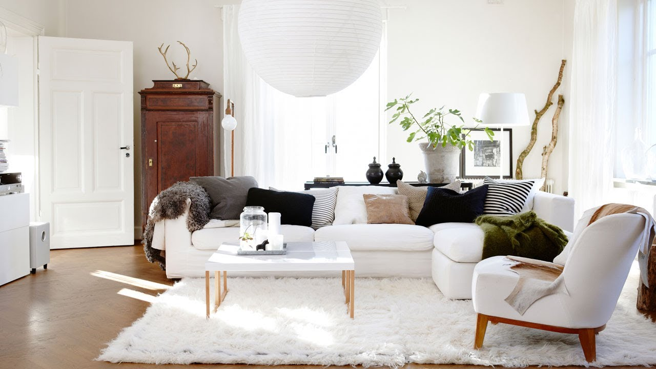 Home tour daniella 39 s scandinavian style home in sweden youtube - Deco scandinave ikea ...