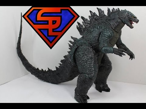 """NECA Godzilla 2014 Head To Tail 7/"""" Action Figure Movie Toy Collection New in Box"""