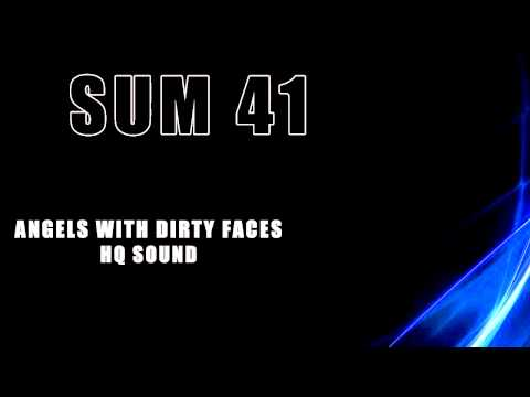 Sum 41 - Angels with dirty faces HQ Sound + Lyrics