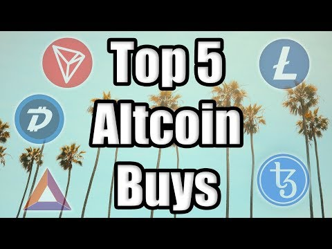 TOP 5 ALTCOINS TO BUY IN JULY!!! 📈 Best Cryptocurrencies to Invest in Q3 2019! [Bitcoin News]