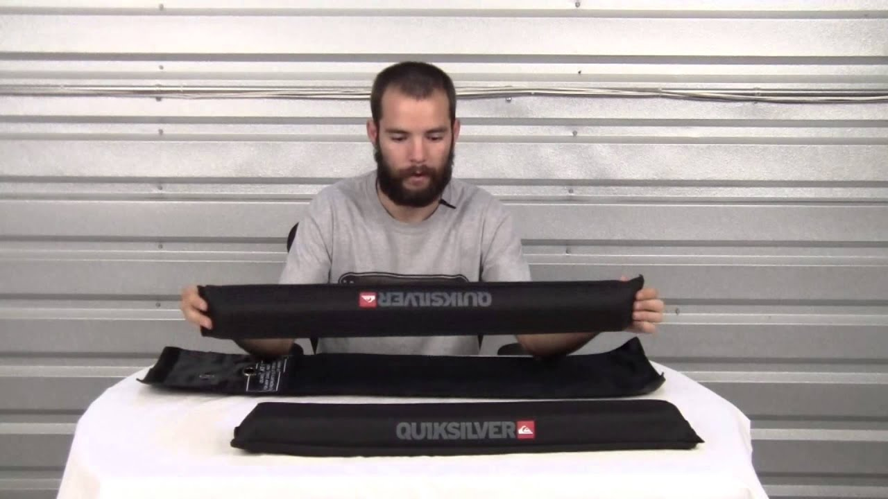 Quicksilver Raise the Roof Rack Pads Review at Surfboards ...