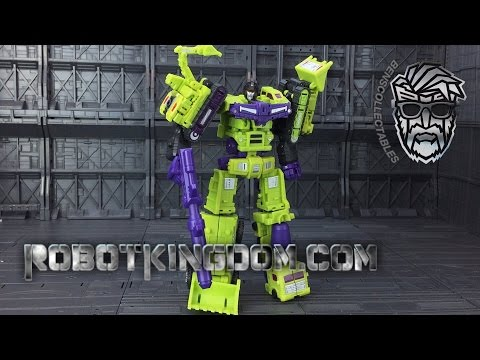 DX9 War in Pocket Heavy Industry X07-X12 Hulkie (Devastator)
