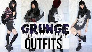 7 Outfits GRUNGE ♡ OTOÑO / PRIMAVERA ♡