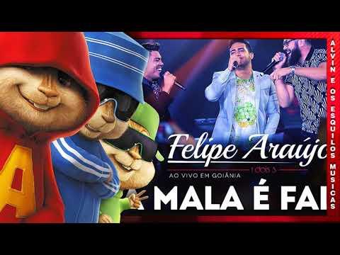 Felipe Araújo - A Mala é Falsa part. Henrique & Juliano - Alvin e os Esquilos