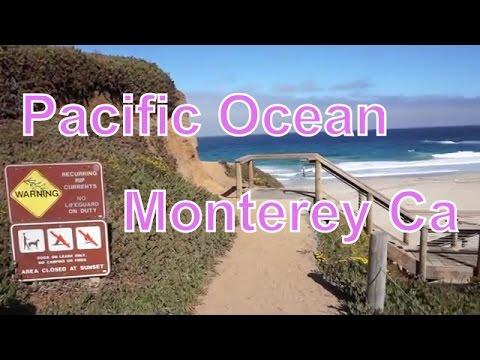 Pacific Ocean..Monterey California....Garrapata State Park Beach...Highway 1....RVerTV
