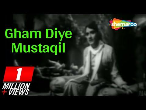Gham Diye Mustaqil - K L Saigal - Ragini - Shahjehan - 1946 - Bollywood Vintage Songs