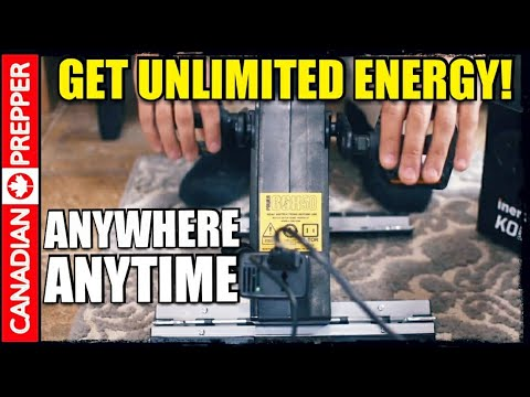 Unlimited Emergency Power: KTOR 50 Watt Generator And Inergy Kodiak Battery