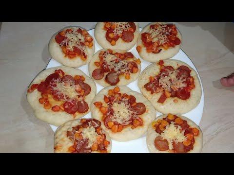 Download CARA MEMBUAT PIZZA MINI TEFLON TANPA MIXER DAN OVEN  LEMBUTNYA BERHARI2