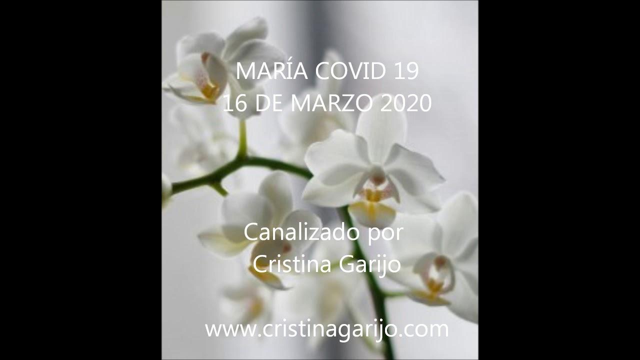 """CANALIZACIÓN MARÍA """"COVID 19"""""""