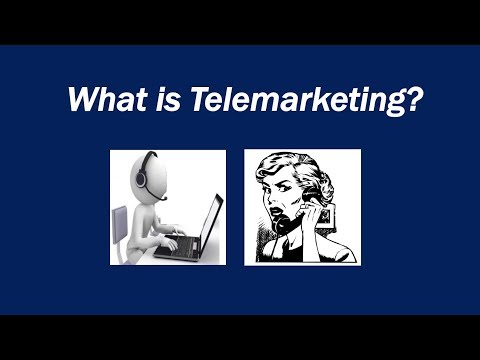 What is telemarketing? Definition and examples - Market